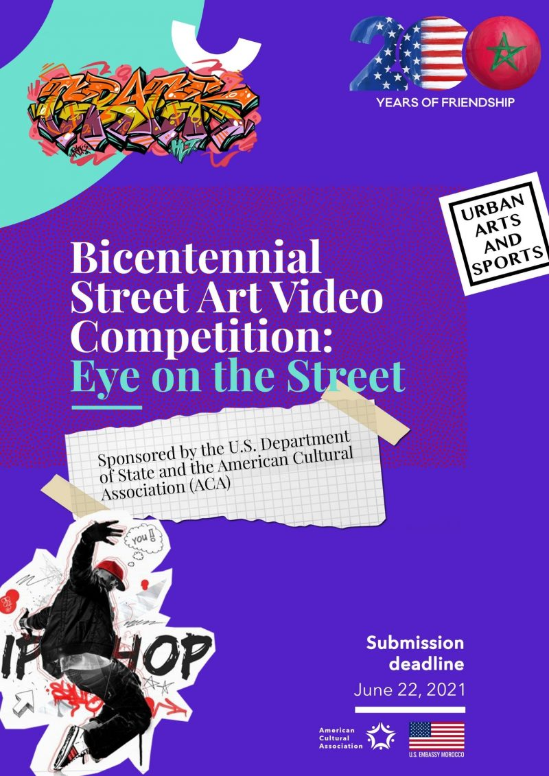 Bicentennial Street Art Video Competition: EYE ON THE STREET
